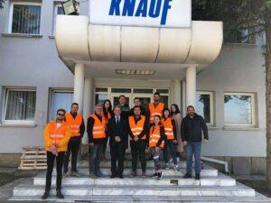 Vizita ne Fabriken e KNAUF