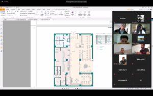Mbrojtja e temës së diplomës në mënyrë Virtuale e studentëve të Dizajnit të Enterierit